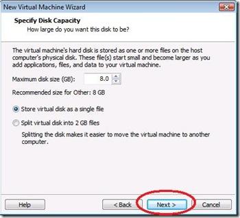 Virtual Size