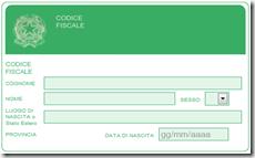 calcolare codice fiscale