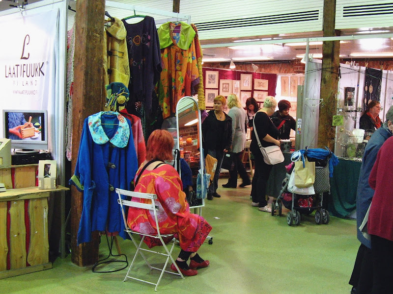 Helsinki craft fair