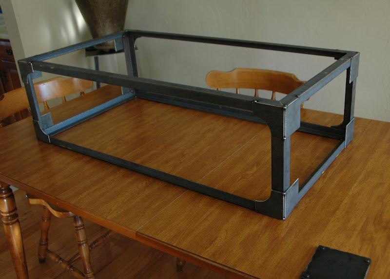 Brooklyn Coffee Table In The Works Vintage Industrial Furniture - Welded coffee table