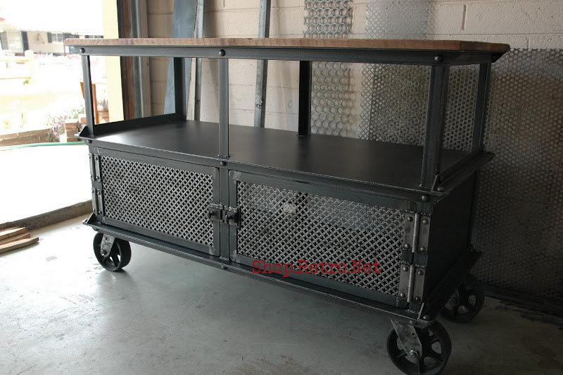 industrial media furniture pet supply storage vintage industrial media console162jpg console table 3 furniture
