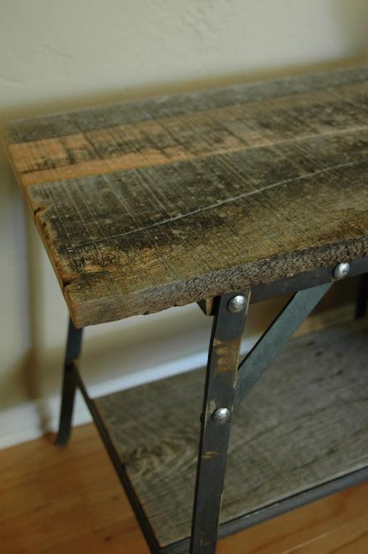 Vintage Industrial Inspired Furniture side table