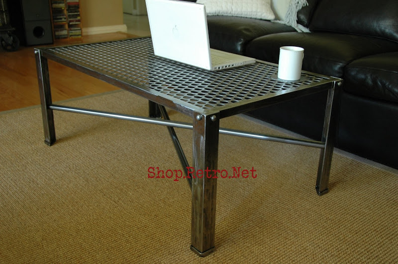 Industrial Metal Coffee Table269 Jpg