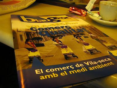 La revista Blau Groc