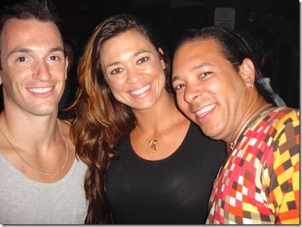 Diego Hipolito, Luana Ferreira e David Santiago