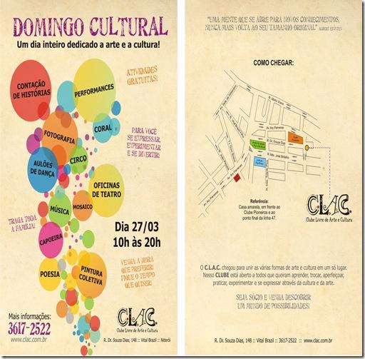 DOMINGO CULTURAL.