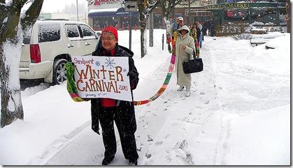 Gini Woodward Ski hat