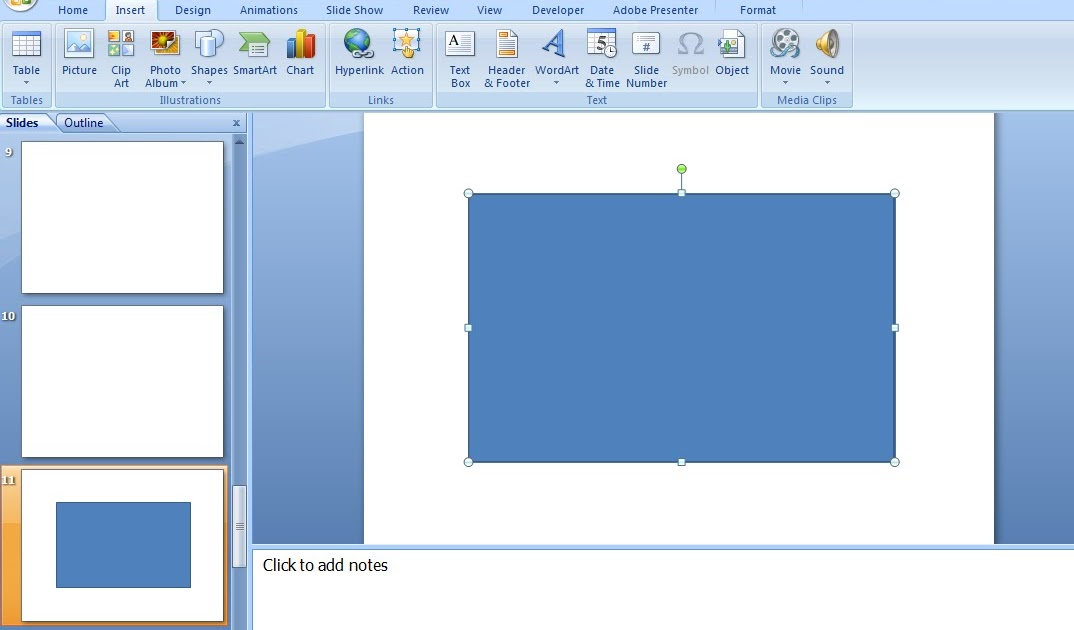 how to add animation to powerpoint 2007