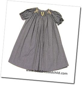 Vandy smocked dress