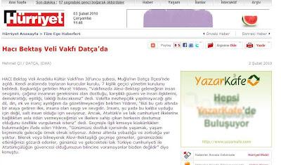 Hürriyet Ege Gazetesi Haber Kaynağı ve Detayı için lütfen Tıklayınız!