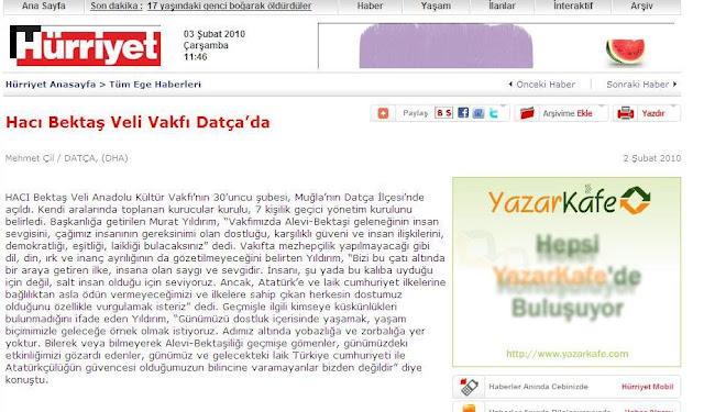 H�rriyet Ege Gazetesi Haber Kayna�� ve Detay� i�in l�tfen T�klay�n�z!