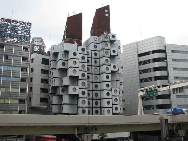 Nakagin Capsule Tower (Tokyo, Japan)