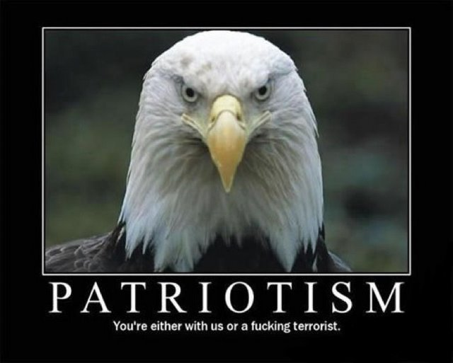 patriotism motivational poster