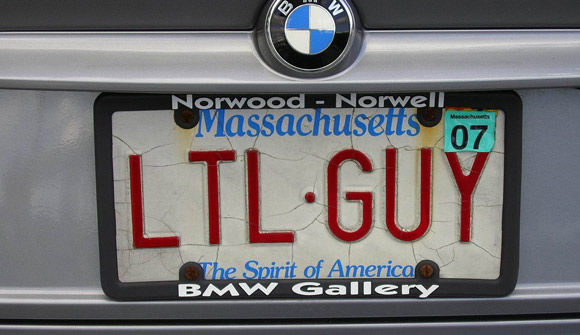 ltl guy license plate