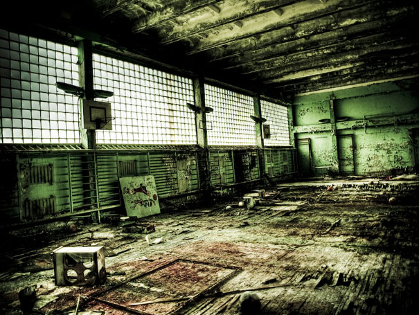 Chernobyl today a creepy story told in pictures