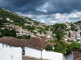 Ouro Prêto sous un ciel menaçant
