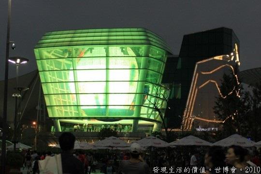 世界博覽會,台灣館,需要預約才可以進入展館參觀,不提供當天排隊。
