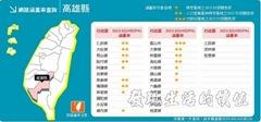 台灣大哥大3.5G涵蓋率