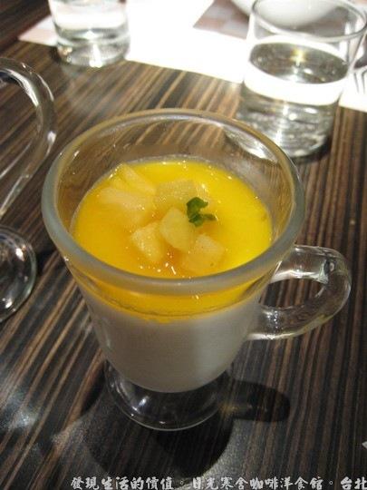 日光寒舍咖啡洋食館,甜點-義式鮮奶酪