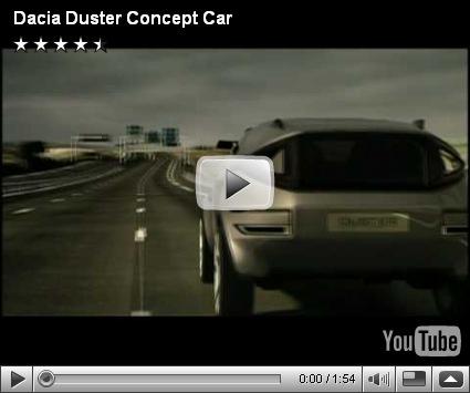 Vídeo-Dacia Duster Concept