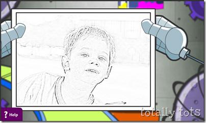 kaleb coloring page
