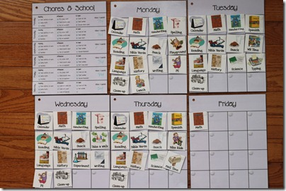 Workbox Weekly Grid Cards