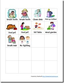 Preschool Chore Cards 3
