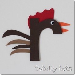 r is for rooster craft