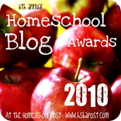 Homeschool Blog Awards