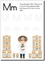 letter m find