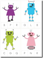 Robot Preschool Pack Part 2