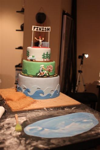 Triathlon Cake1