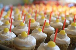 Bertie's Hard Lemonaide Cupcakes