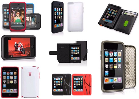 iPod Touch case/iTouch cases: Silicone cases, Leather cases, Shell cases