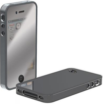 Chrome cool iPhone 4 case by Scosche
