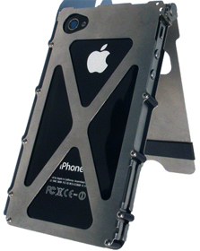 stainless steel cool iPhone 4 cases