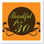 Thankfulfor30