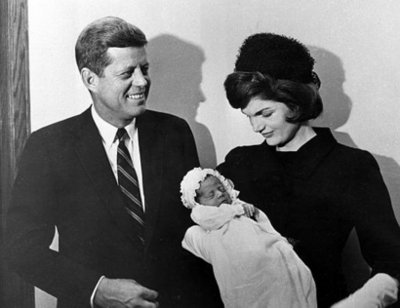 ted kennedy jr leg. President Kennedy and first