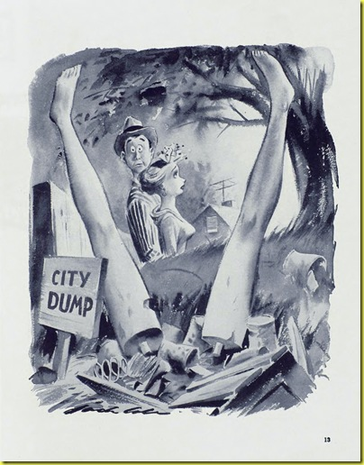 Playboy cartoon Jack Cole August 1954