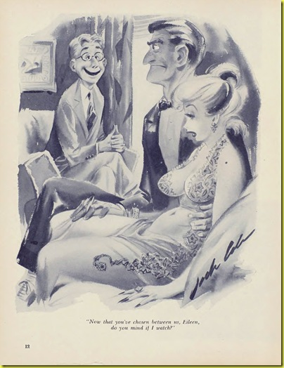 Playboy cartoon Jack Cole Sept 1954