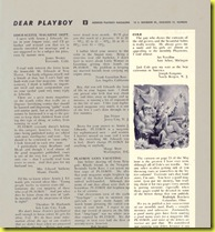 Oct 1 1954 letters about Jack Cole