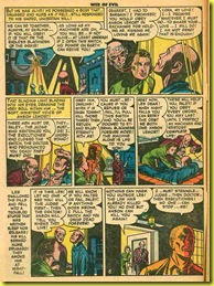 Baci issue comic book page shows a man with a shaved head