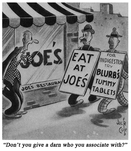 Jack Cole Cartoon Boys Life 1939 Feb