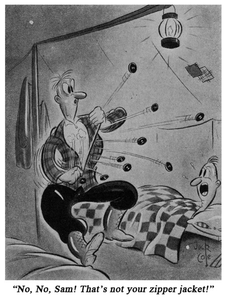 Jack Cole Cartoon Boys Life 1939 Jan