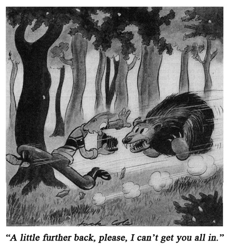 Jack Cole Cartoon Boys Life 1939 April