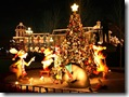 Christmas at Disney_Disney Characters 1024x768  desktop widescreen wallpaper
