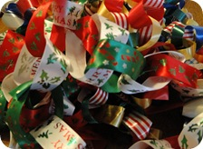 Christmas Tree Paper Chain 2010