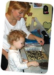 Making Christmas Cookies 2006