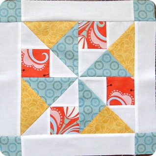 Layer Cake Quilt Along Block 7