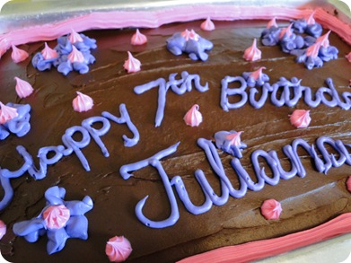 Juliana birthday morning